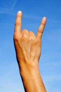 il gesto delle corna