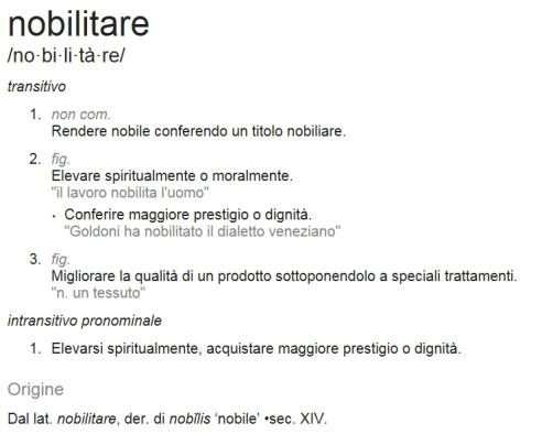 Il Lavoro Nobilita Luomo Italianosemplicemente